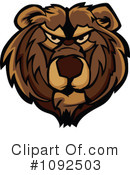 Royalty-Free (RF) Bear Clipart Illustration #1092503