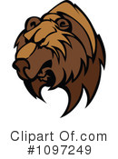 Royalty-Free (RF) Bear Clipart Illustration #1097249