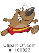 Royalty-Free (RF) Bear Clipart Illustration #1100823