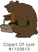 Royalty-Free (RF) Bear Clipart Illustration #1103613
