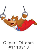 Royalty-Free (RF) Bear Clipart Illustration #1110918