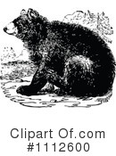 Royalty-Free (RF) bear Clipart Illustration #1112600