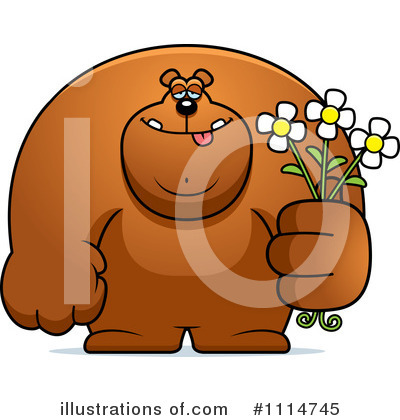 Giving Flowers Clipart #1114745 by Cory Thoman
