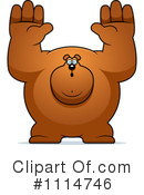 Bear Clipart #1114746 by Cory Thoman