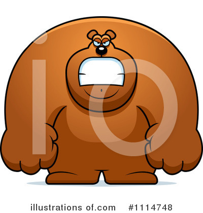 Bear Clipart #1114748 by Cory Thoman
