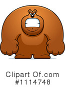 Royalty-Free (RF) Bear Clipart Illustration #1114748