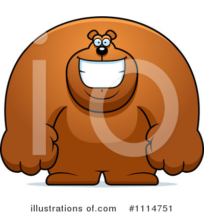 Bear Clipart #1114751 by Cory Thoman