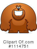 Royalty-Free (RF) Bear Clipart Illustration #1114751