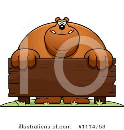 Bear Clipart #1114753 by Cory Thoman