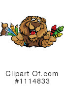 Royalty-Free (RF) bear Clipart Illustration #1114833
