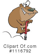 Royalty-Free (RF) bear Clipart Illustration #1116792