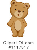 Royalty-Free (RF) Bear Clipart Illustration #1117317