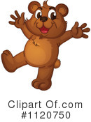 Royalty-Free (RF) Bear Clipart Illustration #1120750