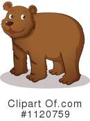 Royalty-Free (RF) Bear Clipart Illustration #1120759