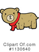 Royalty-Free (RF) bear Clipart Illustration #1130640
