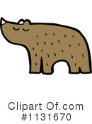 Royalty-Free (RF) Bear Clipart Illustration #1131670