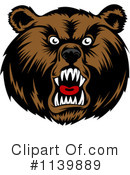 Bear Clipart #1139889 by Vector Tradition SM
