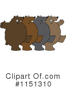 Royalty-Free (RF) Bear Clipart Illustration #1151310