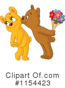 Royalty-Free (RF) bear Clipart Illustration #1154423