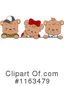 Royalty-Free (RF) Bear Clipart Illustration #1163479