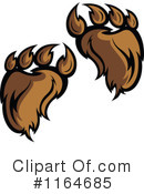 Royalty-Free (RF) Bear Clipart Illustration #1164685