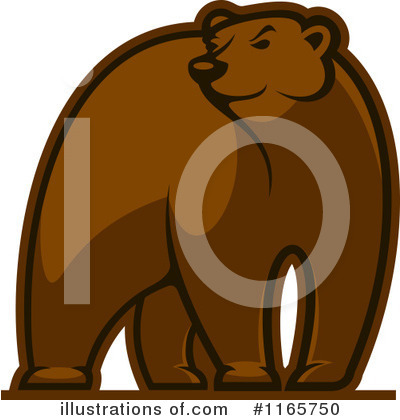 Bear Clipart #1165750 by Vector Tradition SM