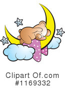 Royalty-Free (RF) bear Clipart Illustration #1169332