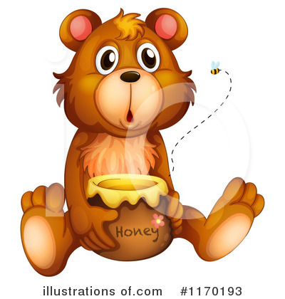 Honey Clipart #1170193 by Graphics RF