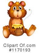 Royalty-Free (RF) Bear Clipart Illustration #1170193