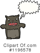 Bear Clipart #1196578 by lineartestpilot