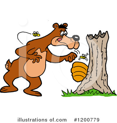 Honey Clipart #1200779 by LaffToon