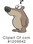 Royalty-Free (RF) Bear Clipart Illustration #1209642