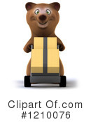Bear Clipart #1210076 by Julos