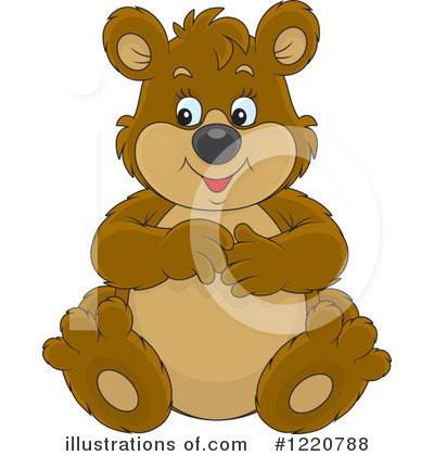 Bear Clipart #1220788 by Alex Bannykh