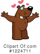 Bear Clipart #1224711 by Cory Thoman