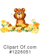 Royalty-Free (RF) Bear Clipart Illustration #1226051