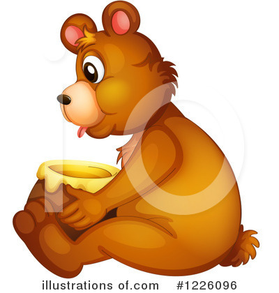 Honey Clipart #1226096 by Graphics RF