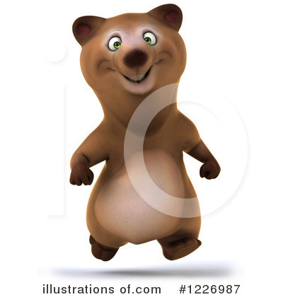Brown Bear Clipart #1226987 by Julos