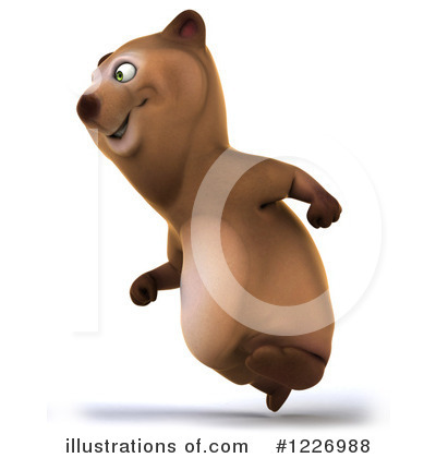 Brown Bear Clipart #1226988 by Julos