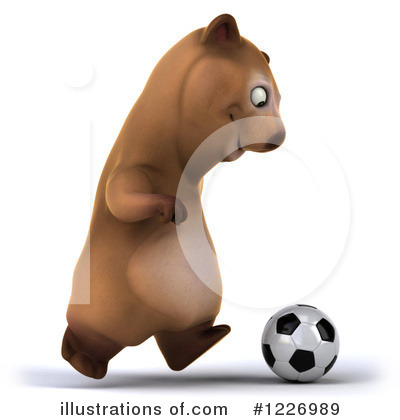 Brown Bear Clipart #1226989 by Julos