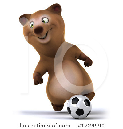 Brown Bear Clipart #1226990 by Julos