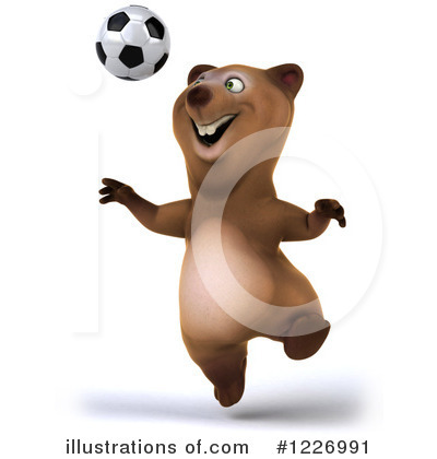 Brown Bear Clipart #1226991 by Julos