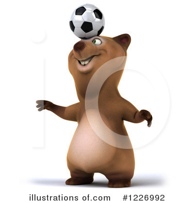Brown Bear Clipart #1226992 by Julos