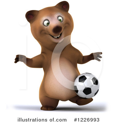 Brown Bear Clipart #1226993 by Julos