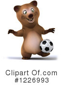 Bear Clipart #1226993 by Julos