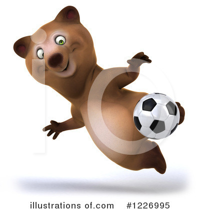 Brown Bear Clipart #1226995 by Julos