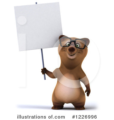 Brown Bear Clipart #1226996 by Julos
