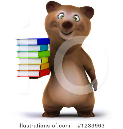 Brown Bear Clipart #1233963 by Julos