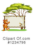 Bear Clipart #1234796 by Graphics RF