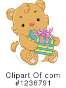 Royalty-Free (RF) Bear Clipart Illustration #1236791
